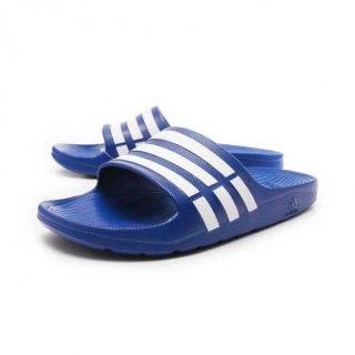 adidas-duramo-slippers-slide-blauw-46