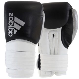 adidas-hybrid-300-kick-bokshandschoenen-zwart-wit-zilver-12-oz