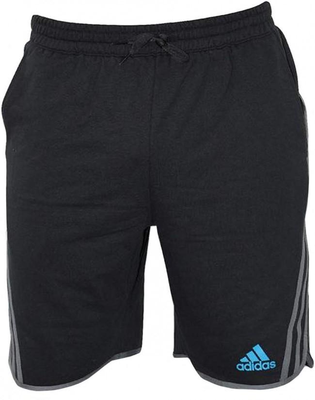 adidas-leisure-fleece-short-beluga-zwart-m