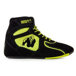 gorilla-wear-chicago-high-tops-zwart-neon-groen-limited