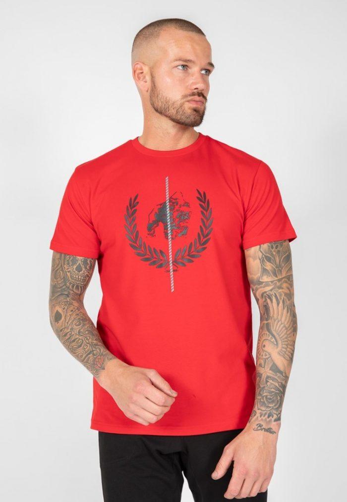 gorilla-wear-rock-hill-t-shirt-rood-l