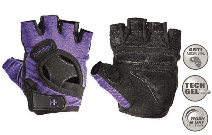 harbinger-women-s-flexfit-fitness-handschoenen-paars-l