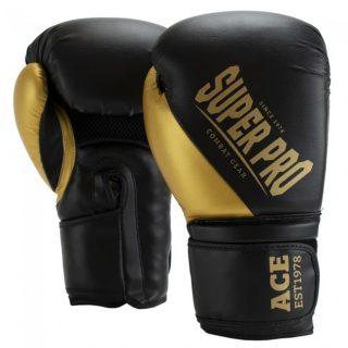 super-pro-combat-gear-ace-kick-bokshandschoenen-zwart-goud-6-oz