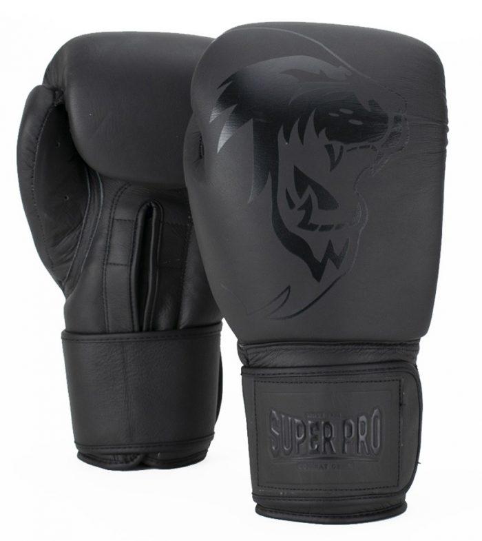 super-pro-combat-gear-legend-lederen-kick-bokshandschoenen-grijs-14-oz