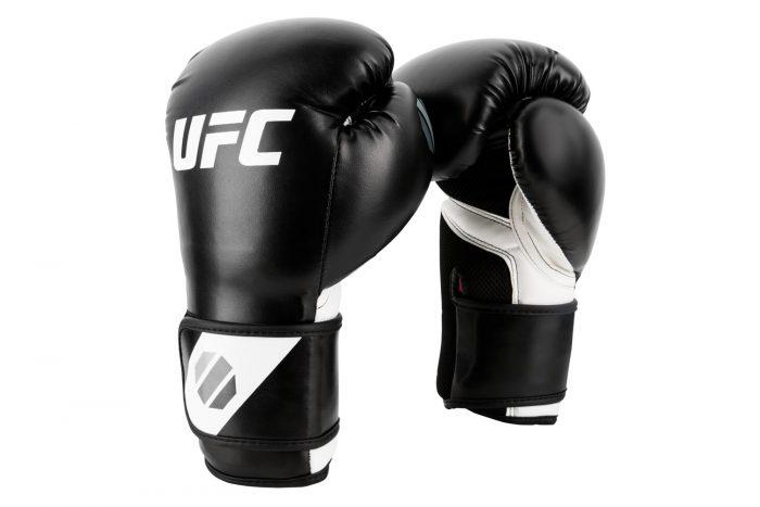 ufc-training-kick-bokshandschoenen-zwart-wit-8-oz